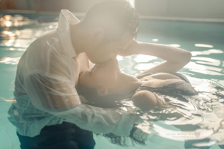 自助婚紗 水中婚紗 水底婚紗 水下婚紗