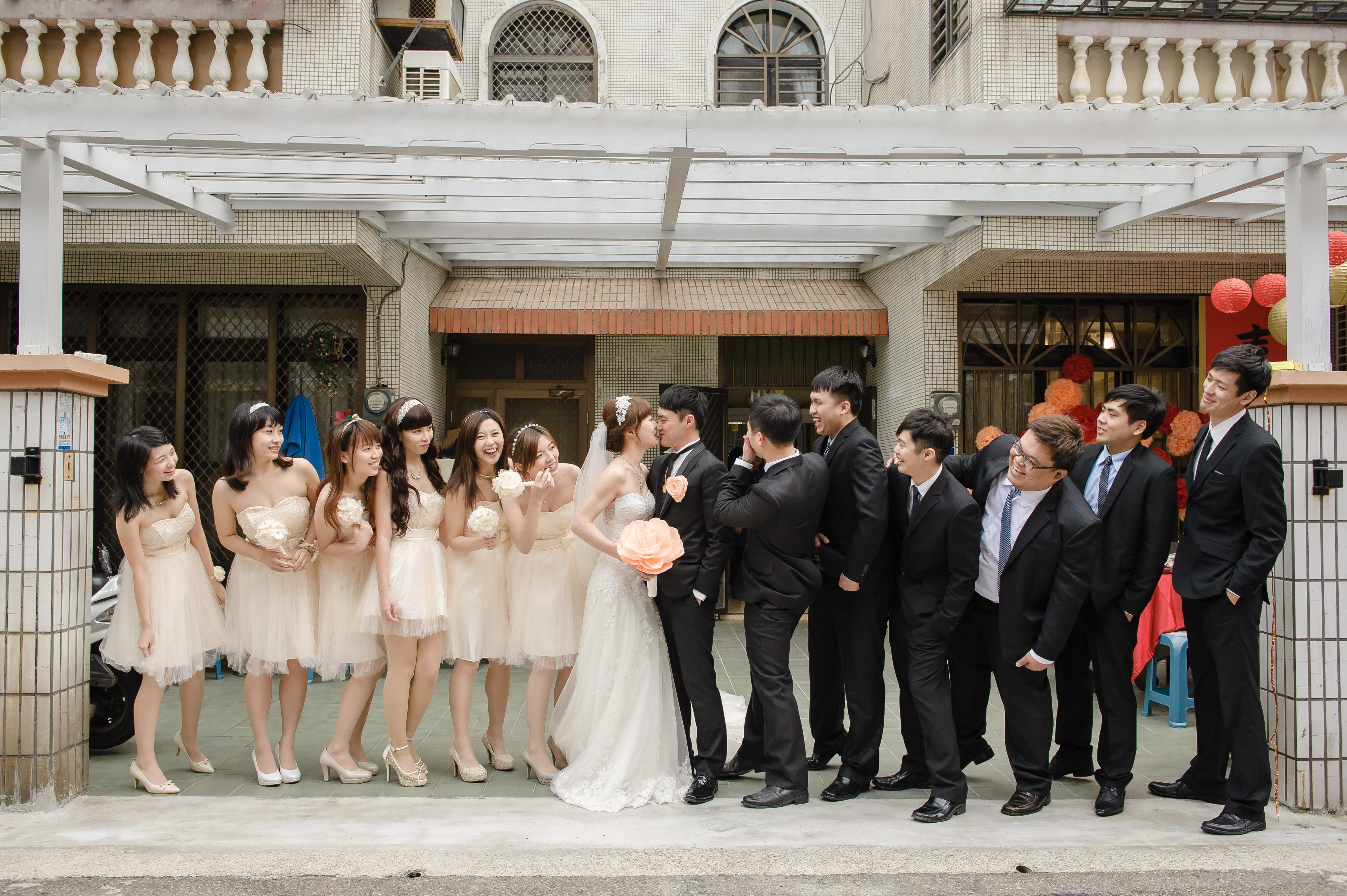 婚攝,新竹晶宴會館,若穎 Celine,WHITE手工婚紗,Snoopy